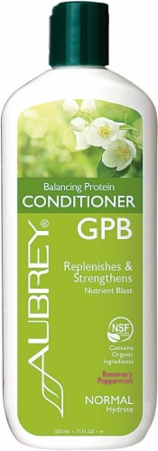 Aubrey GPB Rosemary Peppermint Balancing Protein Conditioner Perspective: front