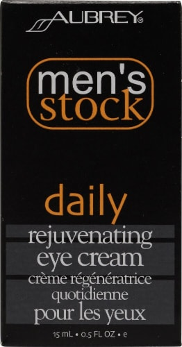 Aubrey  Men's Stock Daily Rejuvenating Eye Cream Perspective: front