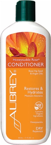 Aubrey Organics Honeysuckle Conditioner Perspective: front