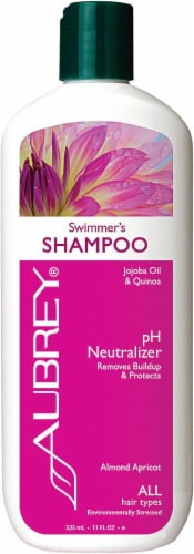 Aubrey Organics Swimmer's Shampoo Perspective: front