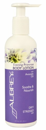 Aubrey  Evening Primrose Soothing Moisturizing Lotion Perspective: front