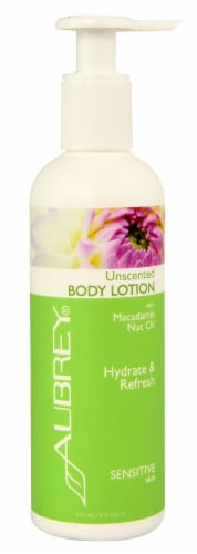 Aubrey Organics Unscented Body Lotions Perspective: front