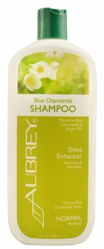 Aubrey Shine Enhancer Blue Chamomile Shampoo Perspective: front