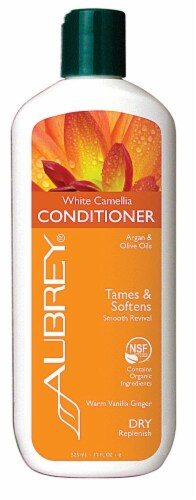 Aubrey  White Camellia Conditioner Warm Vanilla Ginger Perspective: front
