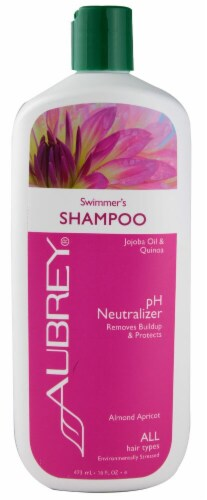 Aubrey  Swimmer's pH Neutralizer Shampoo Almond Apricot Perspective: front