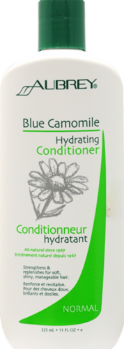 Aubrey Organics Blue Chamomile Hydrating Conditioner for Normal Hair Perspective: front