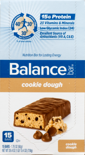 Balance Bar Cookie Dough Perspective: front
