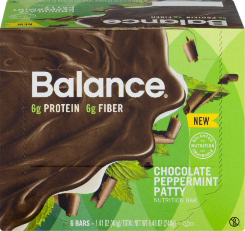 Balance Bar Gold Chocolate Mint Cookie Crunch Perspective: front