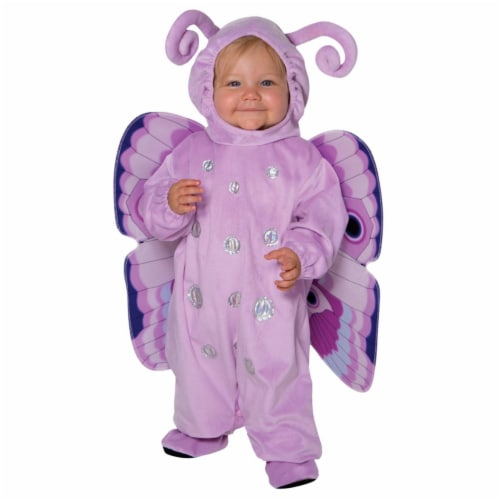 Toddler Butterfly Happy Hoodie Costume, Size 3T-4T Perspective: front