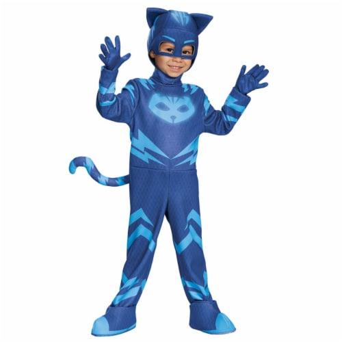 Catboy Deluxe Toddler Child Costume, Size 4-6 Perspective: front