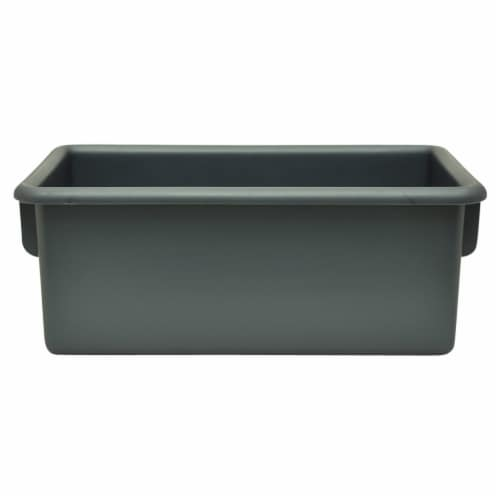 Storage Tubs, Graphite - Pack of 5 Perspective: front