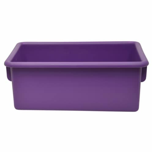 Storage Tubs, Purple - Pack of 5 Perspective: front