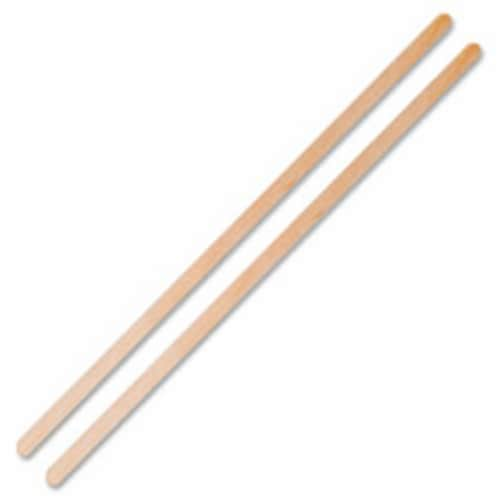 Wood Coffee Stir Sticks, 10000 Per Carton Perspective: front