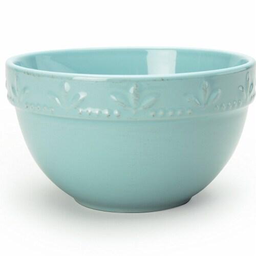 Sorrento Aqua Utility Bowls, Set of 4 Perspective: front