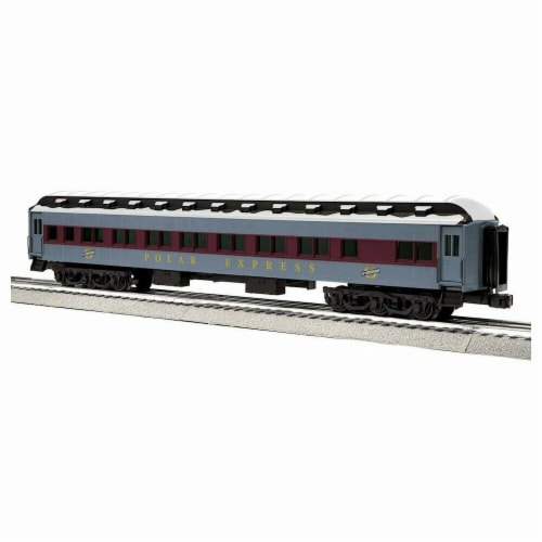 Lionel LNL1927650 O 15th Anniversary Coach Polar Express Model Train Perspective: front