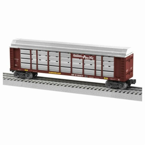 Lionel LNL1928041 O-27 Autorack SP No.518027 Model Train Perspective: front