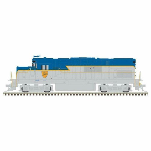 Atlas ATL10002964 HO C420 D & H Phase I Model Train with DCC & Sound No.417 Perspective: front