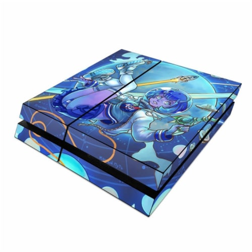 DecalGirl PS4-COMEIN Sony PS4 Skin - We Come in Peace Perspective: front