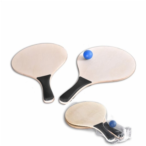 Peerless PAD001 -BLACK Paddle Ball Game, Black Perspective: front