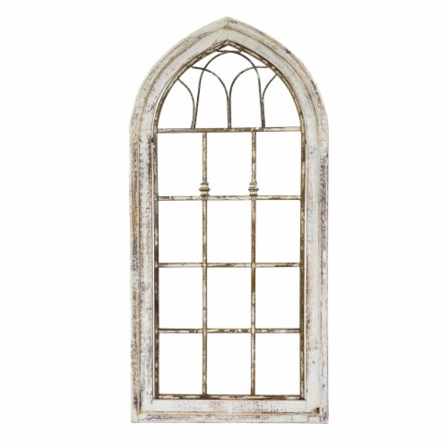 Rustic Arrow 12112 Wooden Window Tubular - Small Perspective: front