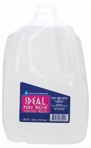 Ideal Pure Water Perspective: front