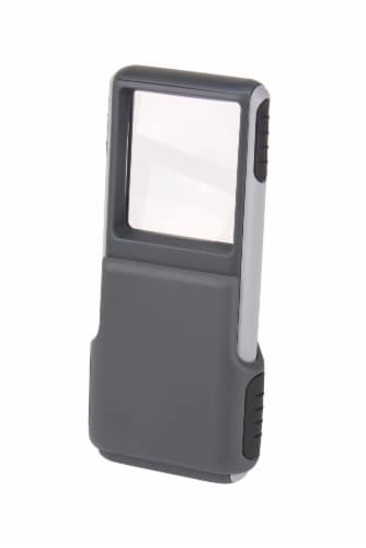 Carson magnifier - Gray Perspective: front