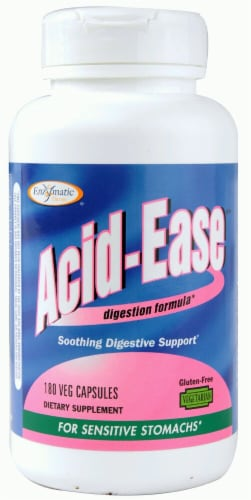 Enzymatic Therapy  Acid Ease Digestion Formula Perspective: front