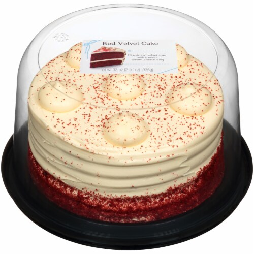 Rich's Red Velvet Double Layer Cake Perspective: front