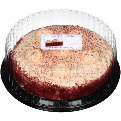 Red Velvet Cake Perspective: front