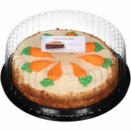 Carrot Cake Perspective: front