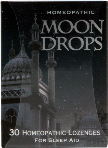 Historical Remedies Moon Drops Lozenges Perspective: front