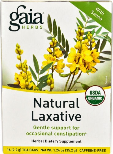 Gaia Herbs  Natural Laxative Perspective: front