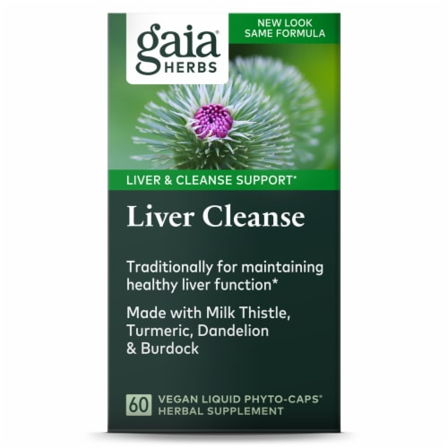 Gaia Herbs Liver Cleanse Perspective: front
