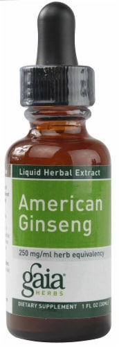 Gaia Herbs American Ginseng Perspective: front