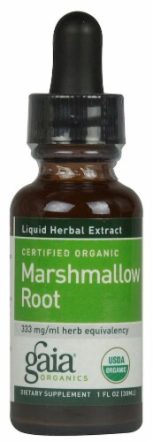 Gaia Herbs Organic Marshmallow Root Perspective: front