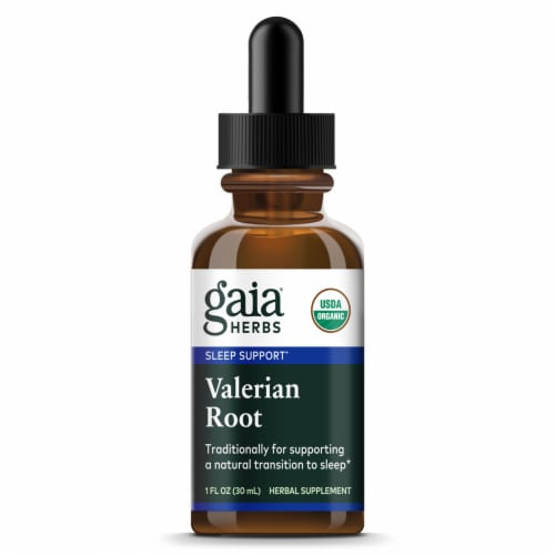 Gaia Herbs Valerian Root Extract Perspective: front