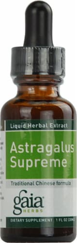 Gaia Herbs Astragalus Supreme Drops Perspective: front
