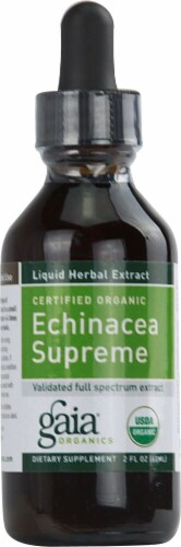 Gaia Herbs  Echinacea Supreme Perspective: front