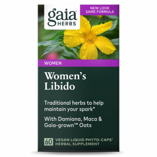 Gaia Herbs Women's Libido Perspective: front