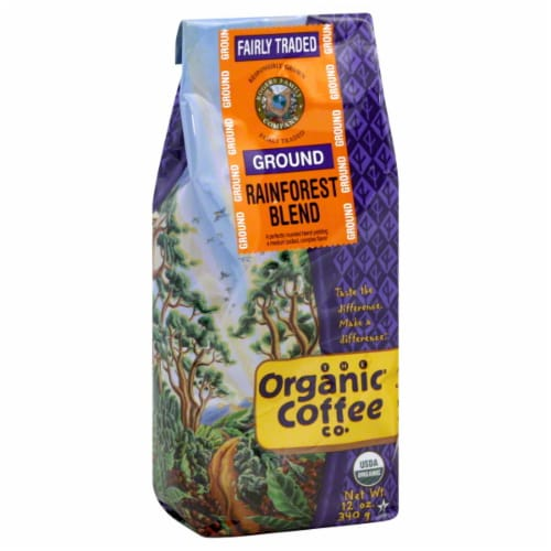 The Organic Coffee Co. Rainforest Blend Perspective: front