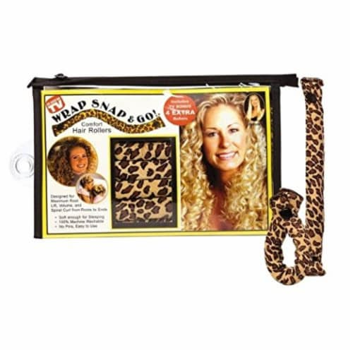 Exceptional Products Wrap, Snap and Go Hair Rollers Perspective: front