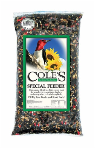 Coles Wild Bird Product Special Bird Food Feeder Perspective: front