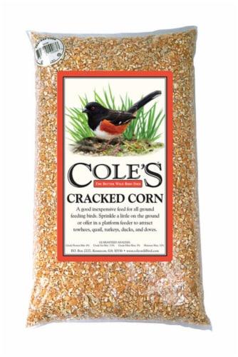 Cole's Assorted Species Wild Bird Food Cracked Corn 10 lb. - Case Of: 1; Perspective: front