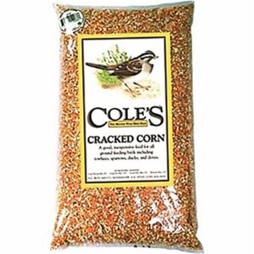 Cole's Assorted Species Wild Bird Food Cracked Corn 20 lb. - Case Of: 1; Perspective: front