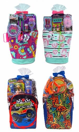Wondertreats Drawstring Backpack Easter Basket - Assorted Perspective: front