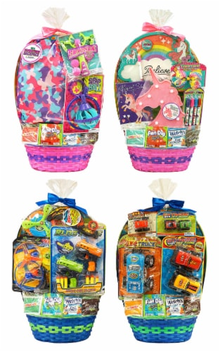 Wondertreats Assorted Theme Extra Large Easter Basket Perspective: front