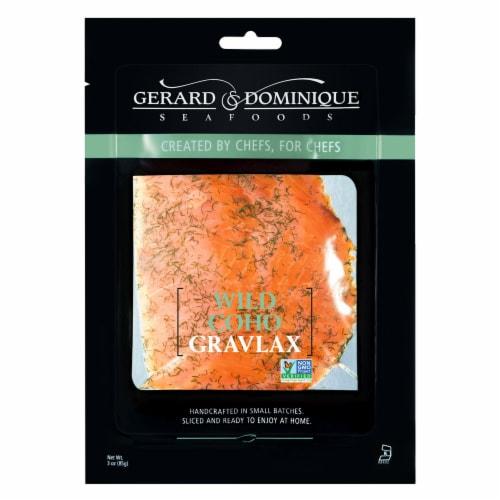 Gerard & Dominque Wild Coho Gravlax Fish Perspective: front