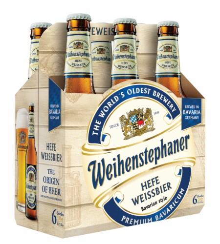 Weihenstephaner Hefe Weissbier Bavarian Style Beer Perspective: front
