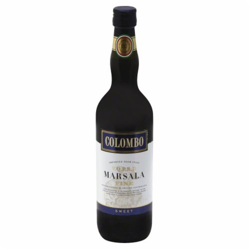 Colombo Marsala Fine Sweet Wine Perspective: front