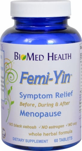 Biomed Health  Femi-Yin™ Menopause Symptom Relief Perspective: front